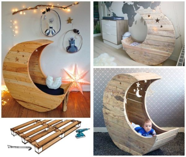 diy pdf pallet half moon cradle 1001 pallets free download
