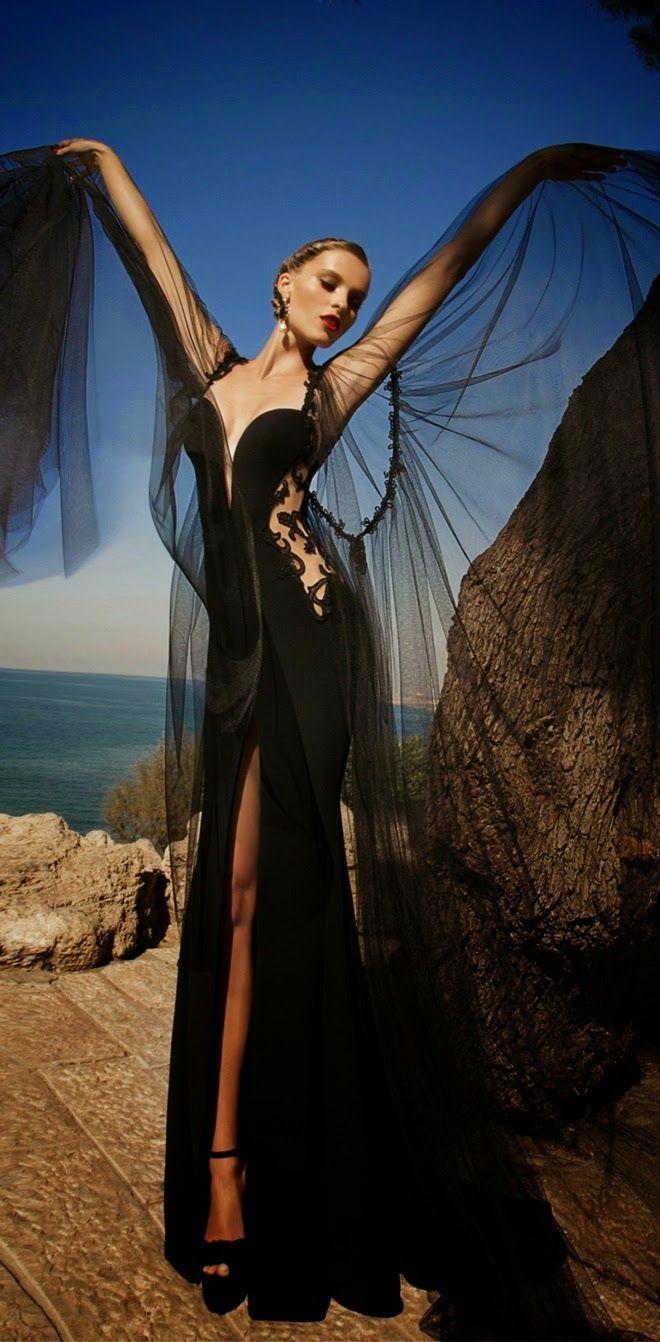 Blog de Amalia G. Aroca: Incredible Evening Dresses: MOONSTRUCK, a collection by Galia Lahav