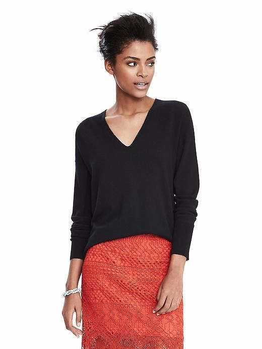 Todd & Duncan Cashmere Vee Pullover