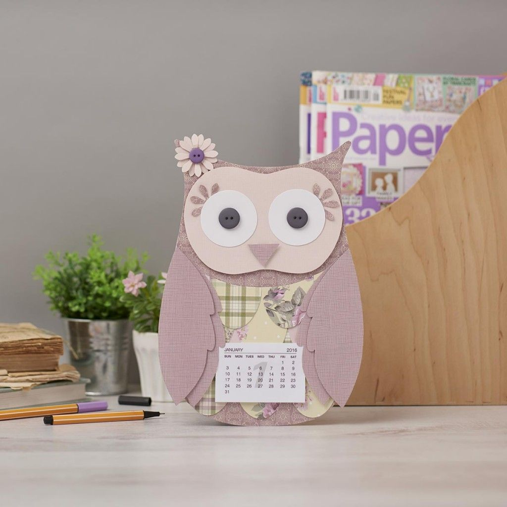 2016 owl calendar free printable templates from issue 147 of 2016 owl calendar free printable templates from issue 147 of papercraft inspirations jeuxipadfo Image collections