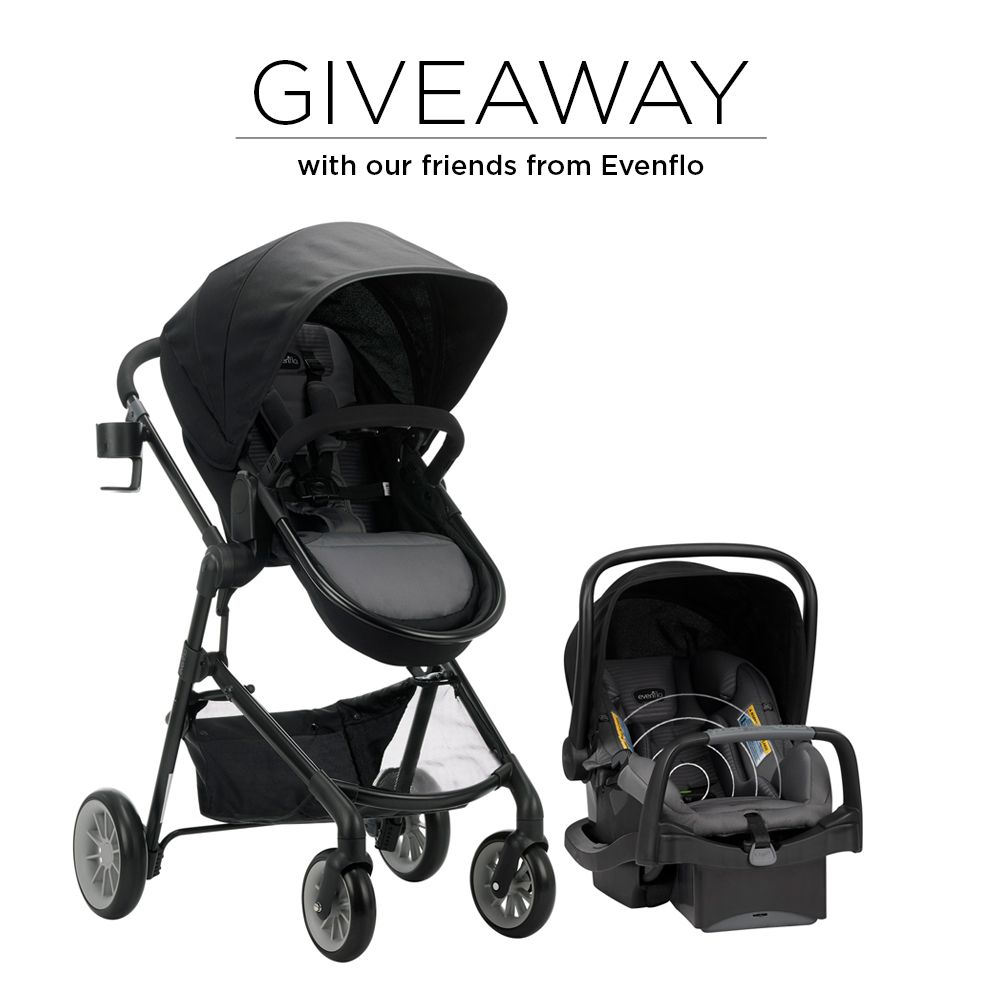 GIVEAWAY! The evenflo Pivot with SensorSafe is a super