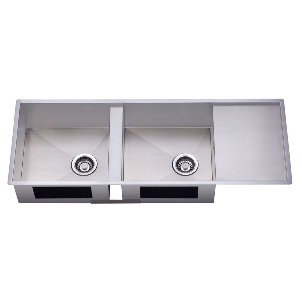 Hafele Double Bowl Stainless Steel Square Sink - Masters Home ...