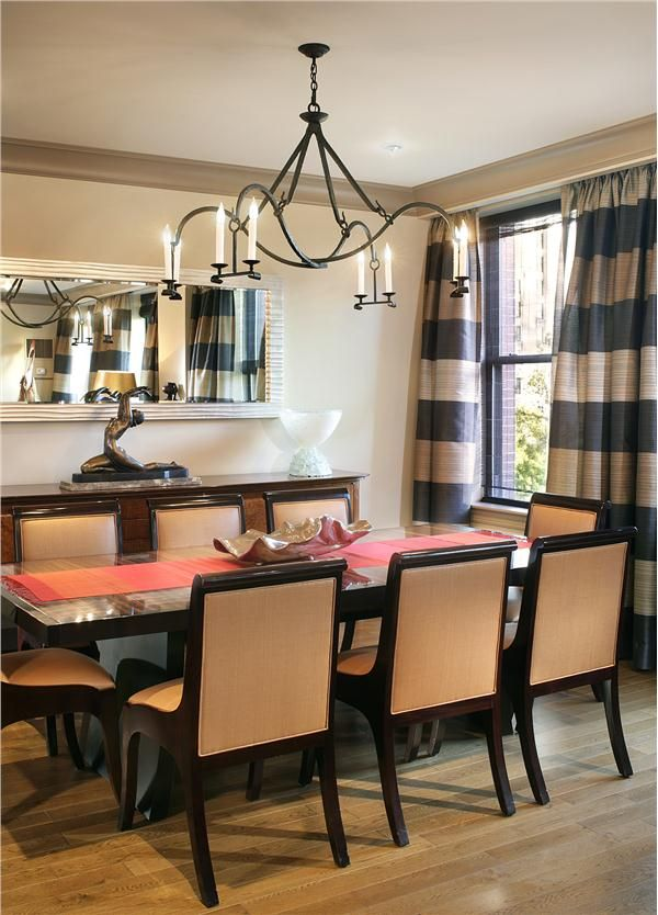 Contemporary Modern Retro Dining Room By Gail Shields Miller
