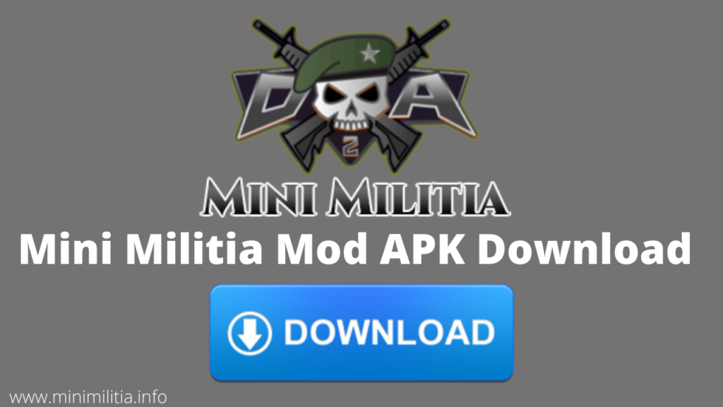 Mini Militia Mod Apk Free Download Unlimited Health Ammo Nitro In 2021 Army Games Game Download Free Play Hacks