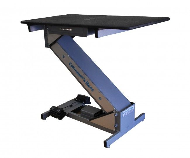 Groomers Best Low Profile Grooming Table Has The Solution To Get Large Breed Dogs On