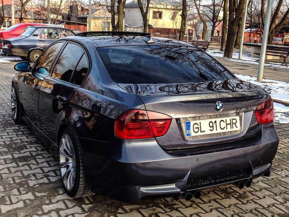 E90 M3 Rear Quad Exhaust Bmw