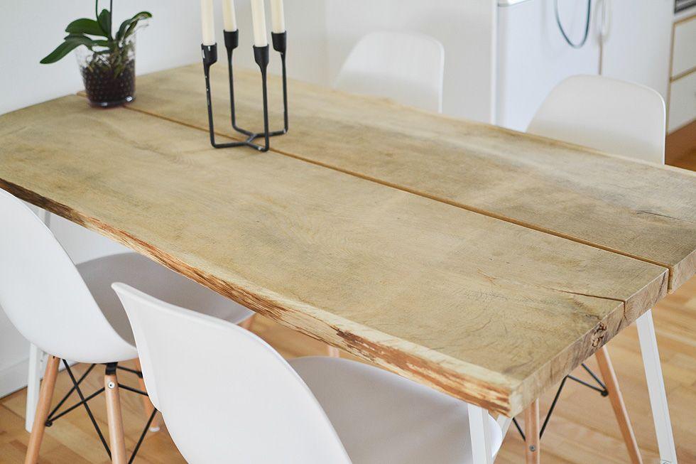 Plankeborde spiseborde helt unikke håndlavet plankebord ...