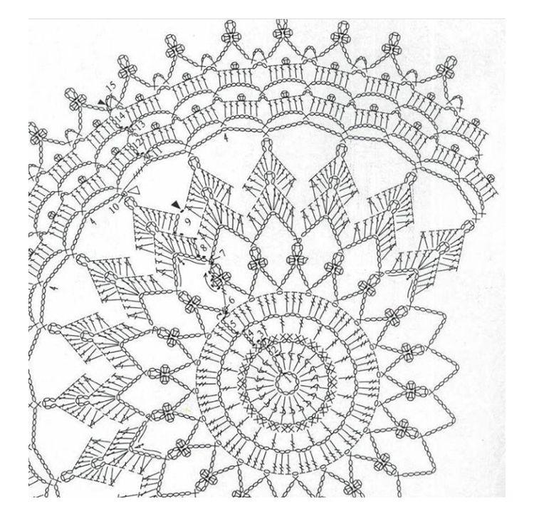 Pin by Гюльнара Газизова on салфетки и мотивы   Pinterest   Crochet ...