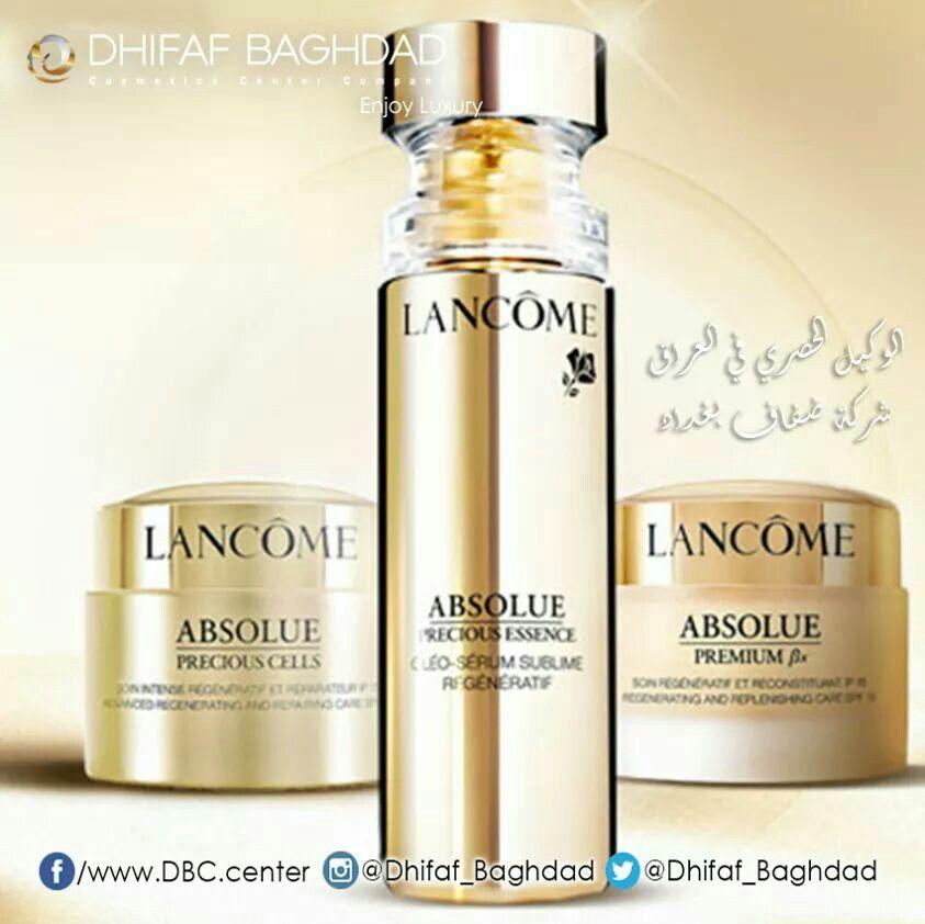 تمتعي بلحظة من الفخامة مع أبسلو Absolue مجموعة مستحضرات عناية بالبشرة استثنائية لتجديد حياة البشرة مستوحاة من الطبيع Perfume Bottles Lancome Absolue Perfume