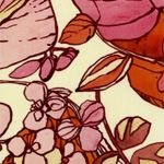 Lourdes Sanchez is an artist and printed textile designer who works in handpainted watercolor media.