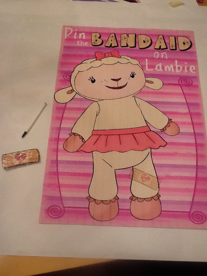 how to draw lambie from doc mcstuffins