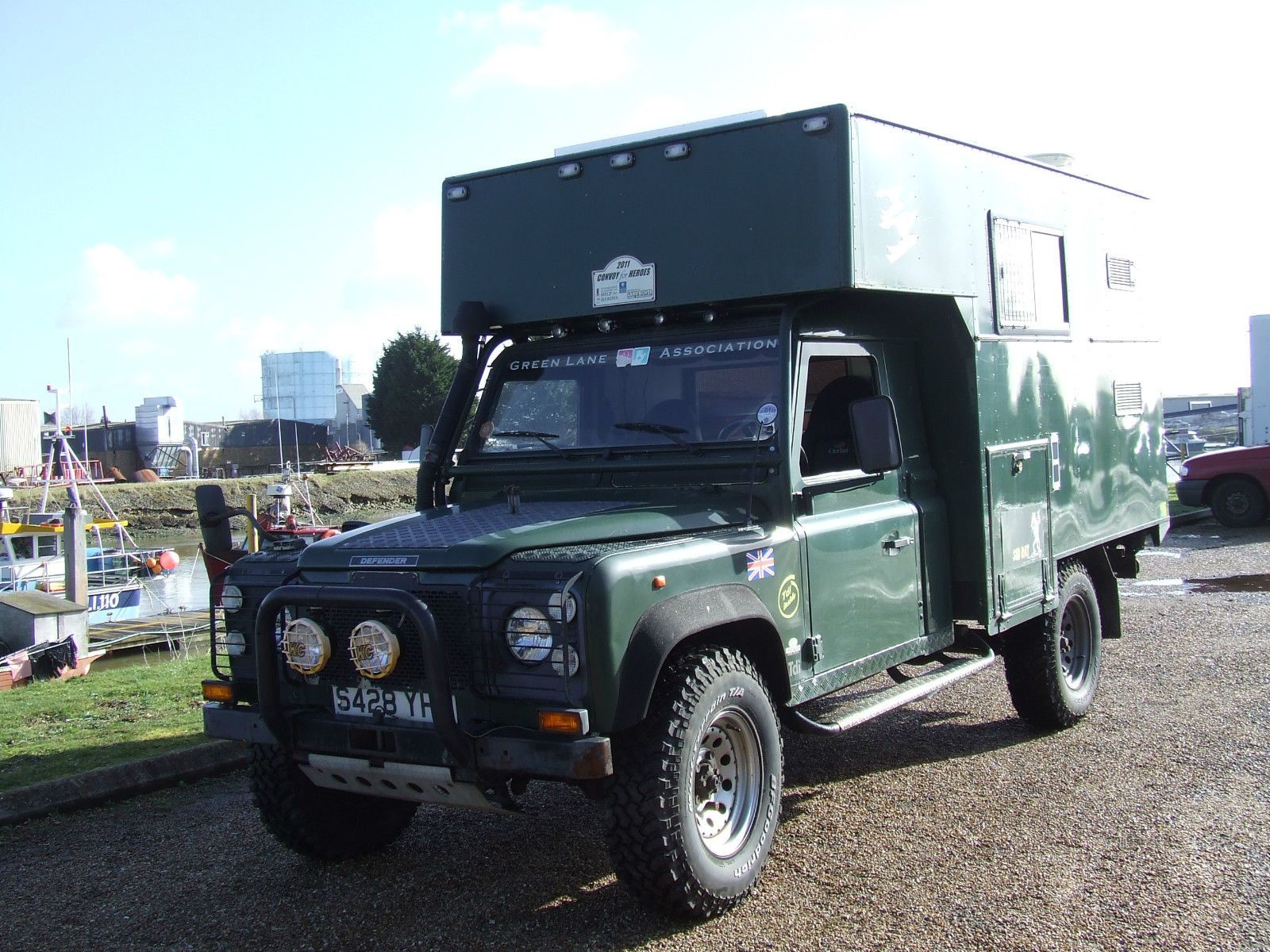 Land Rover 130 4x4 Overland Expedition Camper