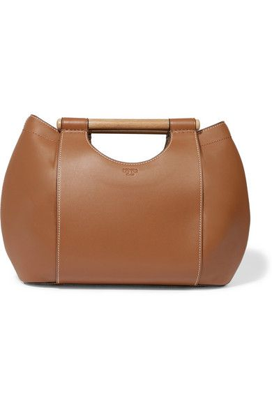Tan Leather Cow Open Top Designer Color Bark Comes With Dust Bag Weighs Roximately 3 1lbs 1 4kg Imported