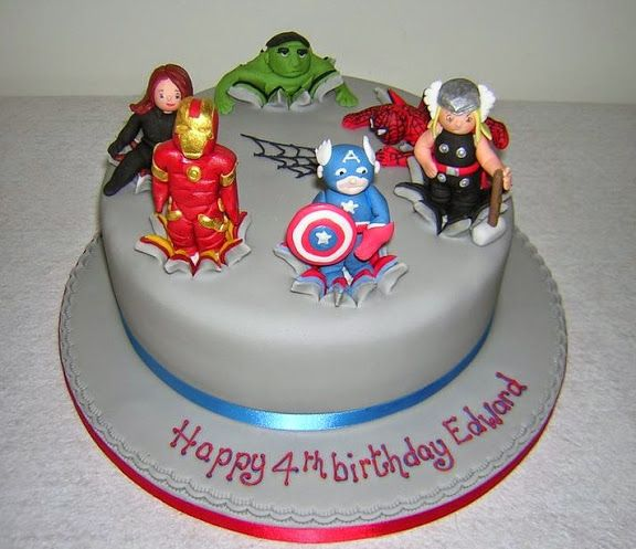 Avengers Birthday Cake Design : Avengers Birthday Cakes Kids food Pinterest Birthday ...