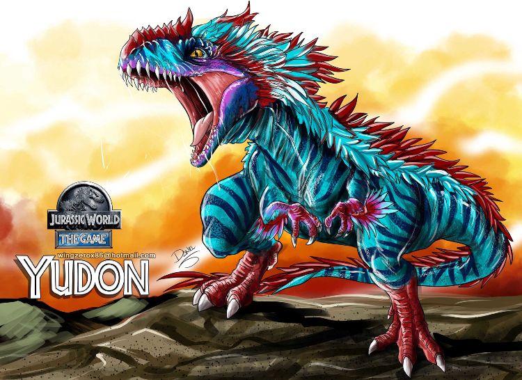 Jurassic World YUDON | Dino Legendary Hybrid! | Jurassic World