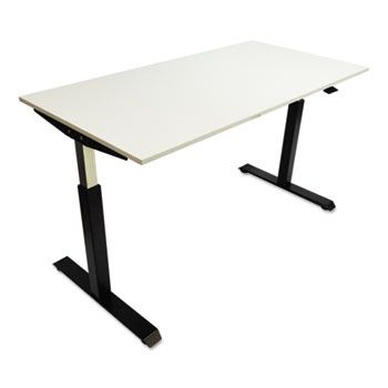 Alera Pneumatic Height Adjustable Table Base 26 1 4 To 39 3 8