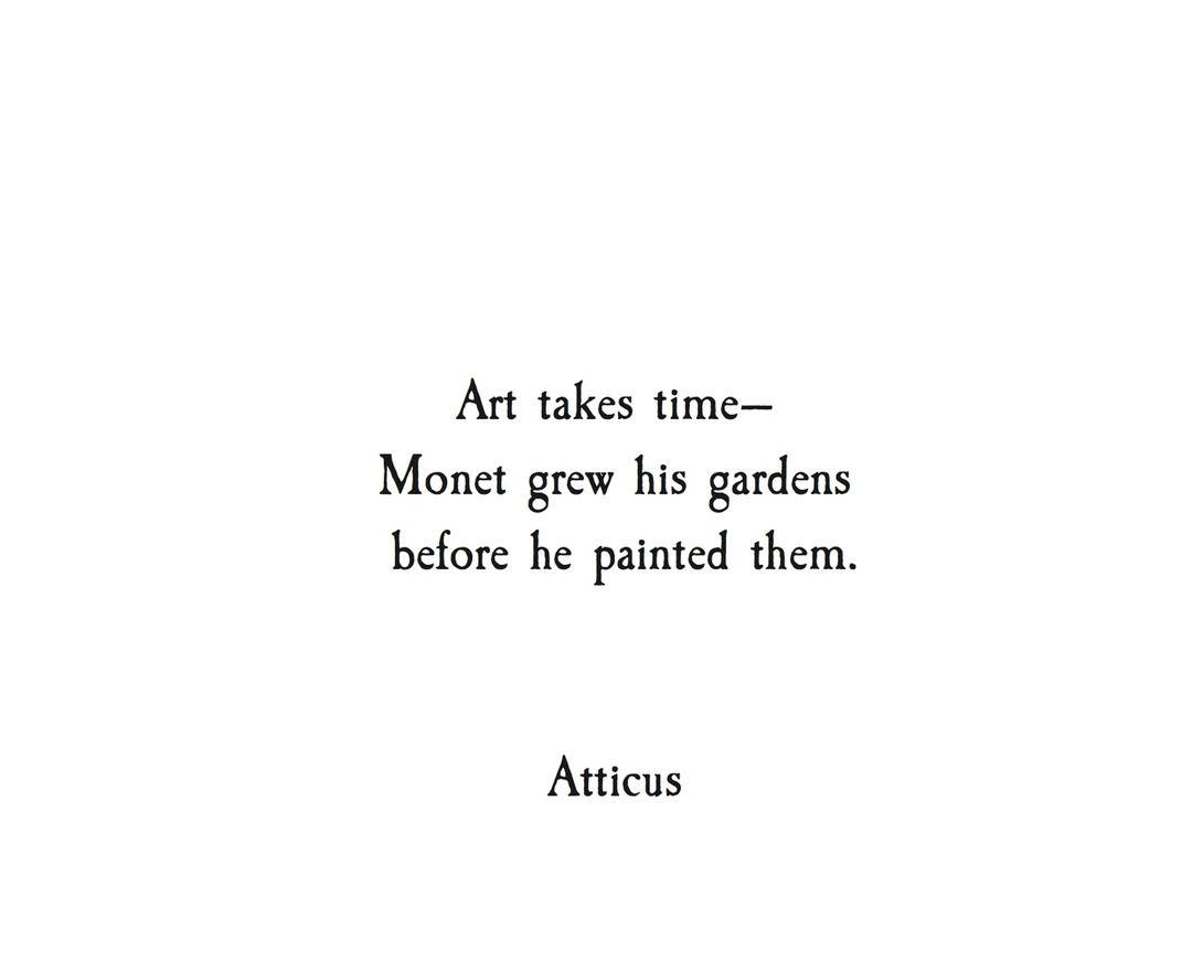 #atticuspoetry