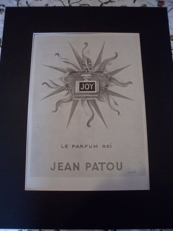 Hey, I found this really awesome Etsy listing at https://www.etsy.com/uk/listing/217033921/joy-perfume-by-jean-patou-large-original