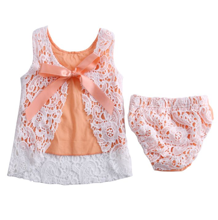 Bright 2018 New Brand Christmas Kid Baby Girl Crochet Rose Flowers Romper Sleeveless Belt Jumpsuit Sunsuit Family Matching Outfits Mother & Kids