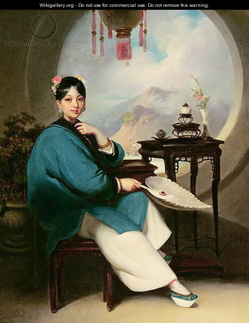 Portrait of a young eurasian lady for me it is chinese woman in portrait of a young eurasian lady for me it is chinese woman in fandeluxe Images