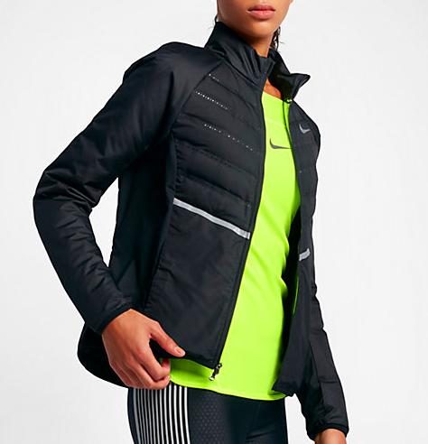 Avions · wishlist de noel pour les sportives veste running hiver Nike femme