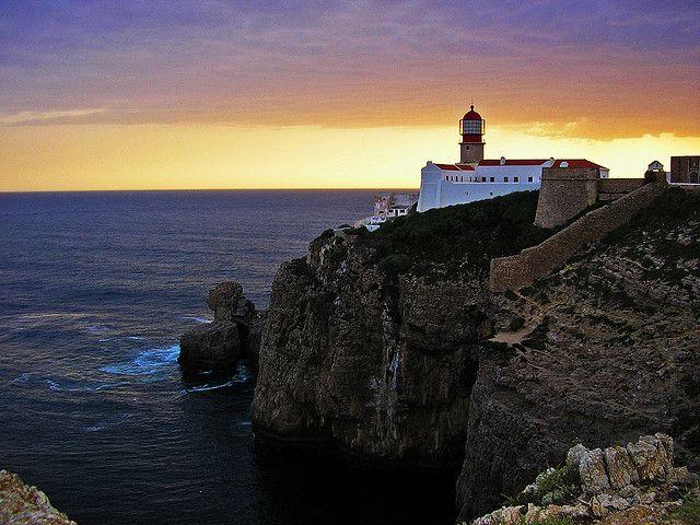 16-Faro del Cabo de San Vicente, Portugal.