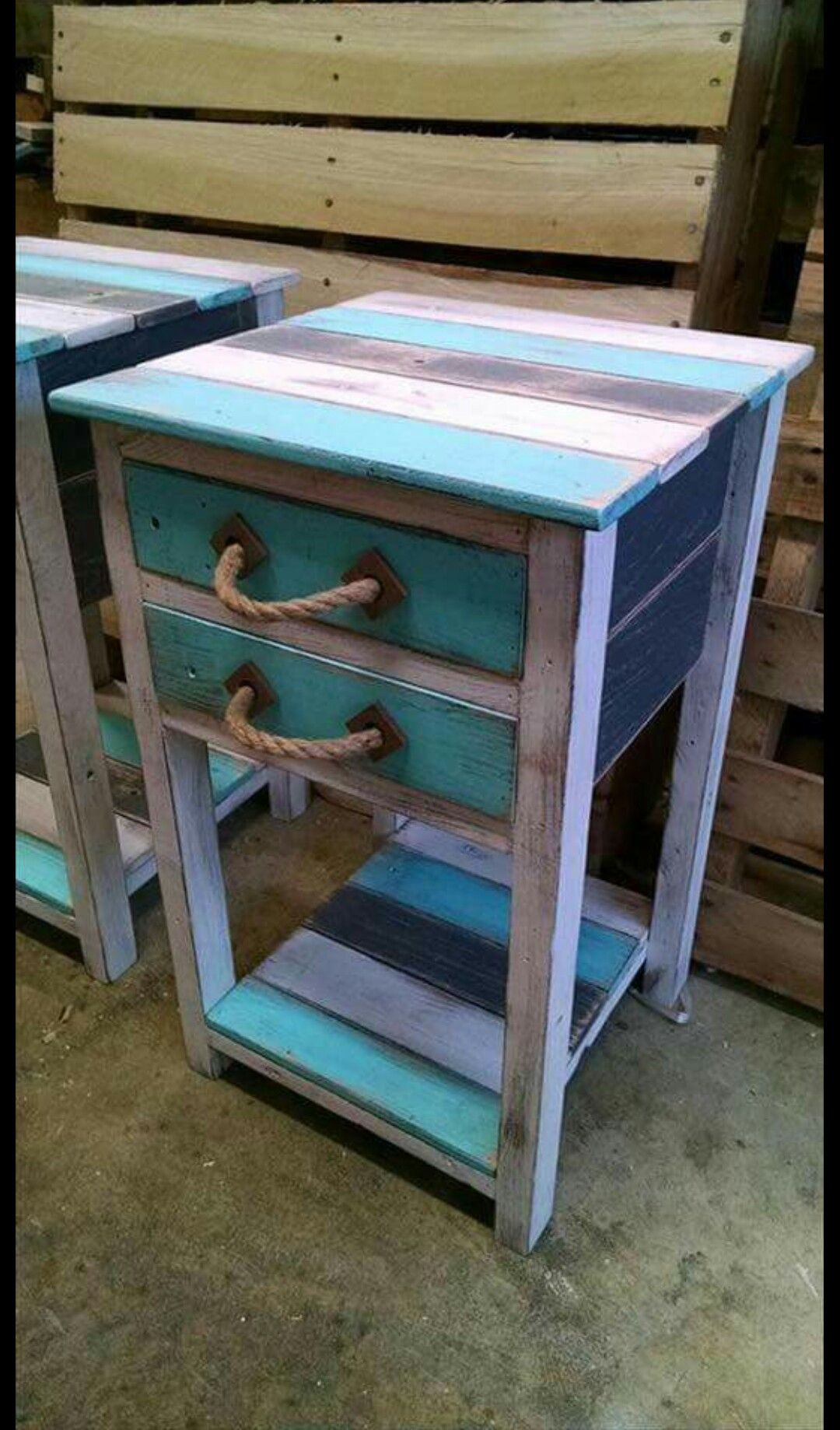 Cute End Tables For The Lake/cabin