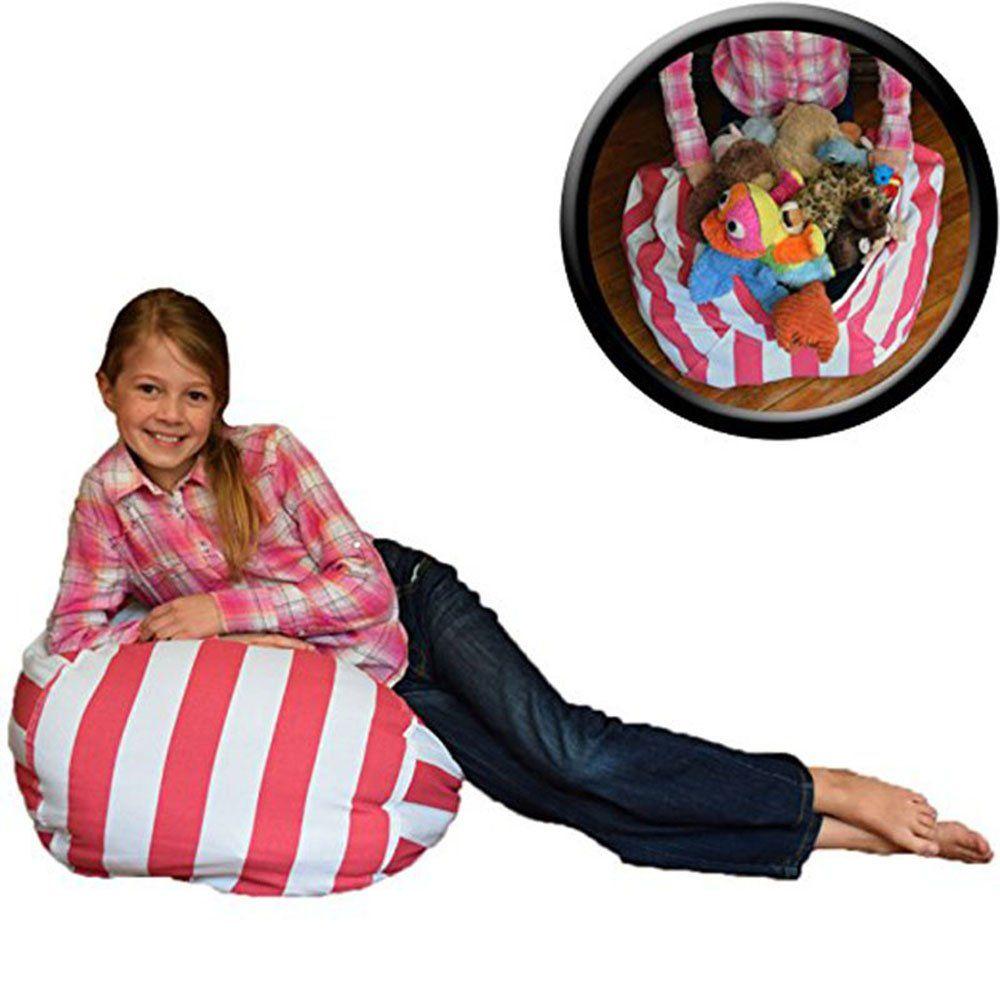 Amazing Stuffed Animal Storage Kids Bean Bag Chair Ehonestbuy Cotton Theyellowbook Wood Chair Design Ideas Theyellowbookinfo