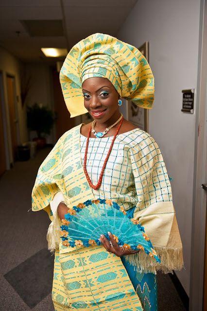 Nigerian Traditional Wedding Dress