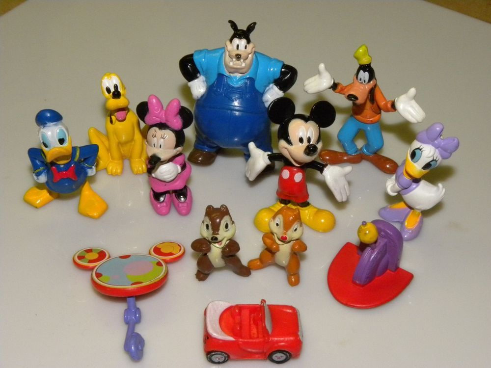 Disney Mickey Mouse Clubhouse Figure Lot Toy Play Set Kit+Book+Mat PVC #Disney - $20 including s/h ebay - new
