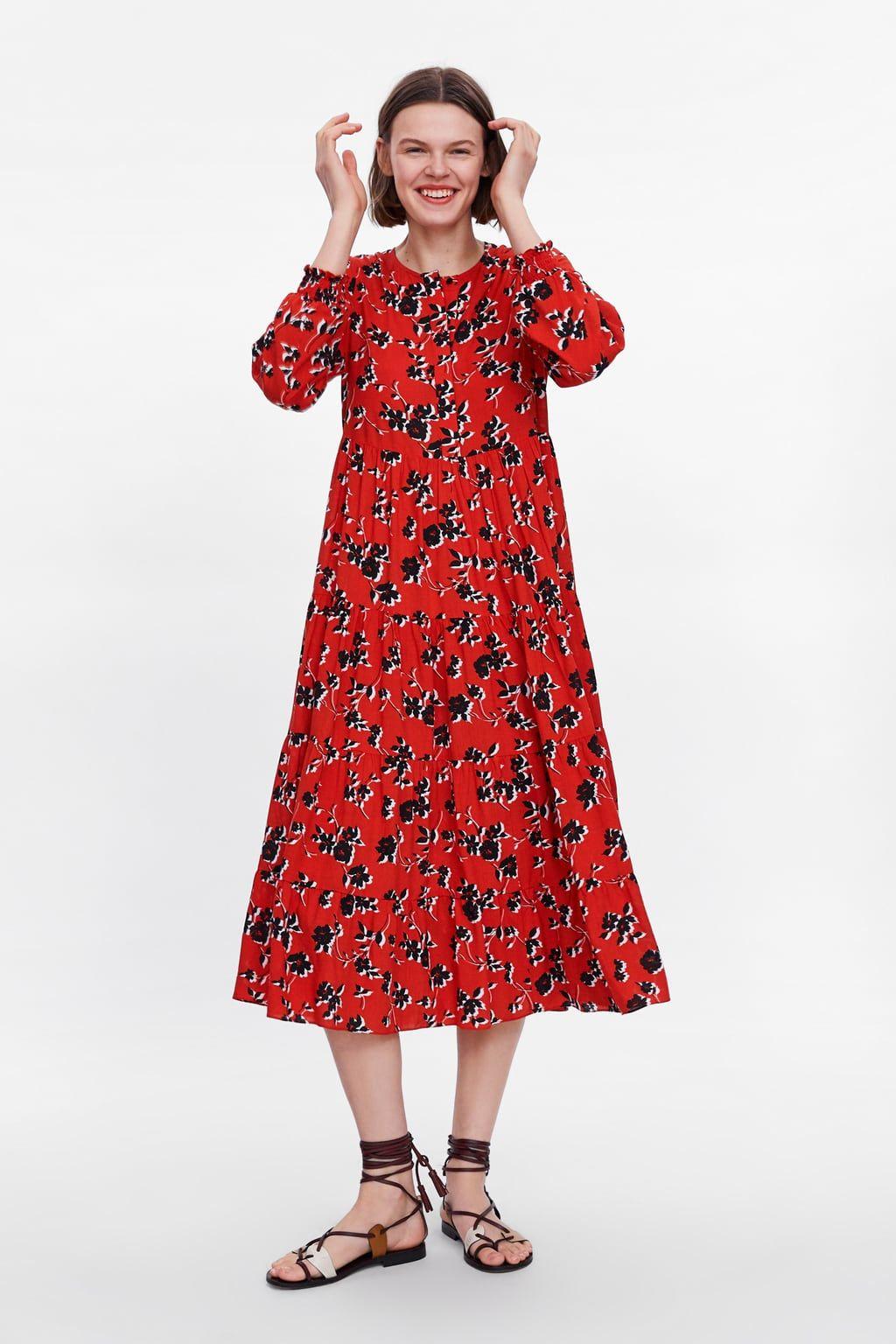 vestido estampado floral | outfit, blumendruck kleider