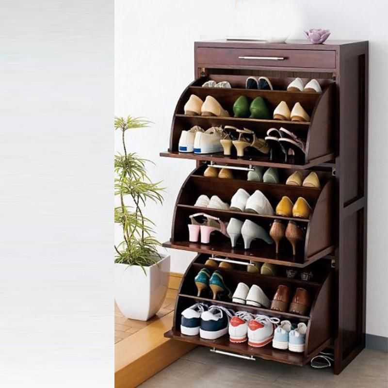 Curve Shoerack 3 Shelf Shoe Rack Living Room Shoe Rack Closet