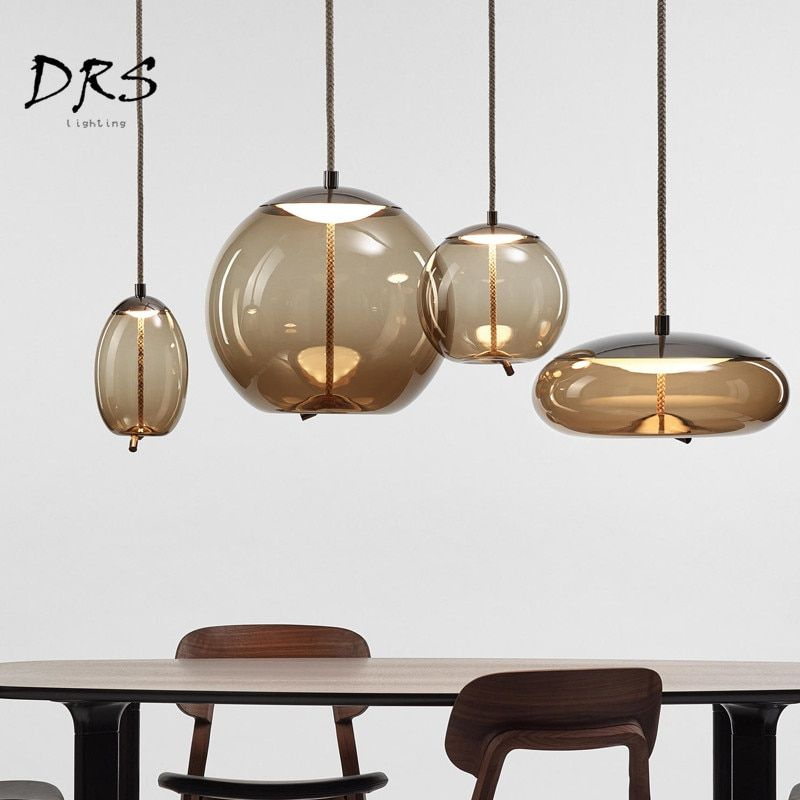 Scandinavian Modern Study Brokis Knot Pendant Lamp Bedside Tom Dixon Luminaria Deco Glass Lustre Pendant Pendant Light Led Pendant Lights Pendant Lighting