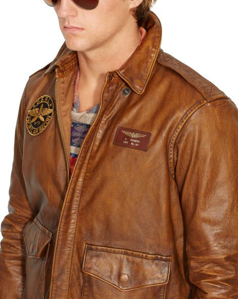 7a5c9b0c9 Leather Farrington A2 Jacket - Leather & Suede Jackets & Outerwear ...