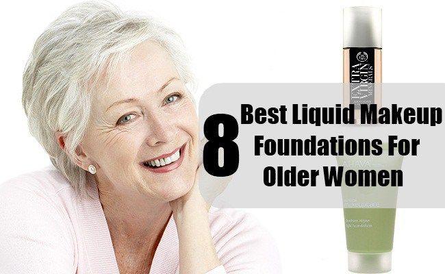 Best makeup foundation for older women