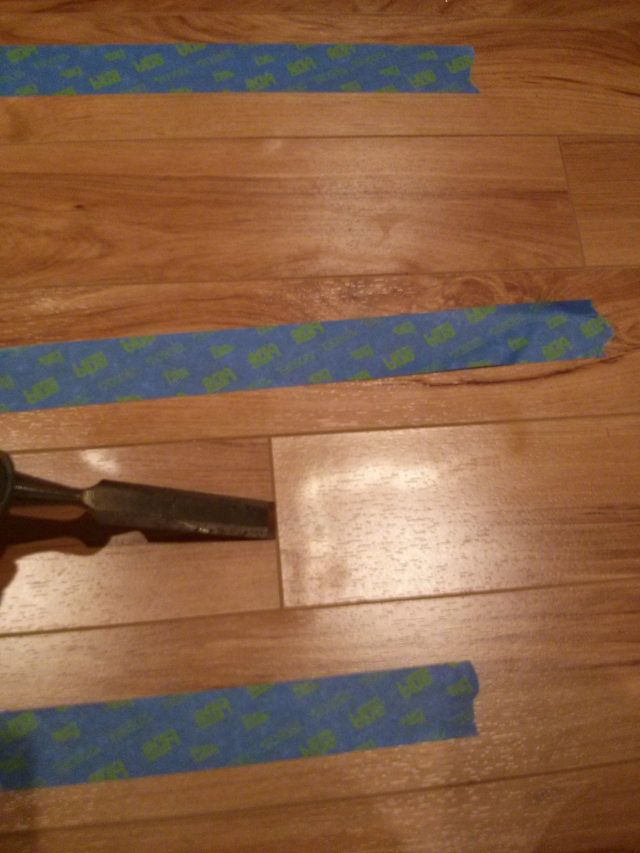 Repairing Water Damaged Laminate Flooring Fix Diy