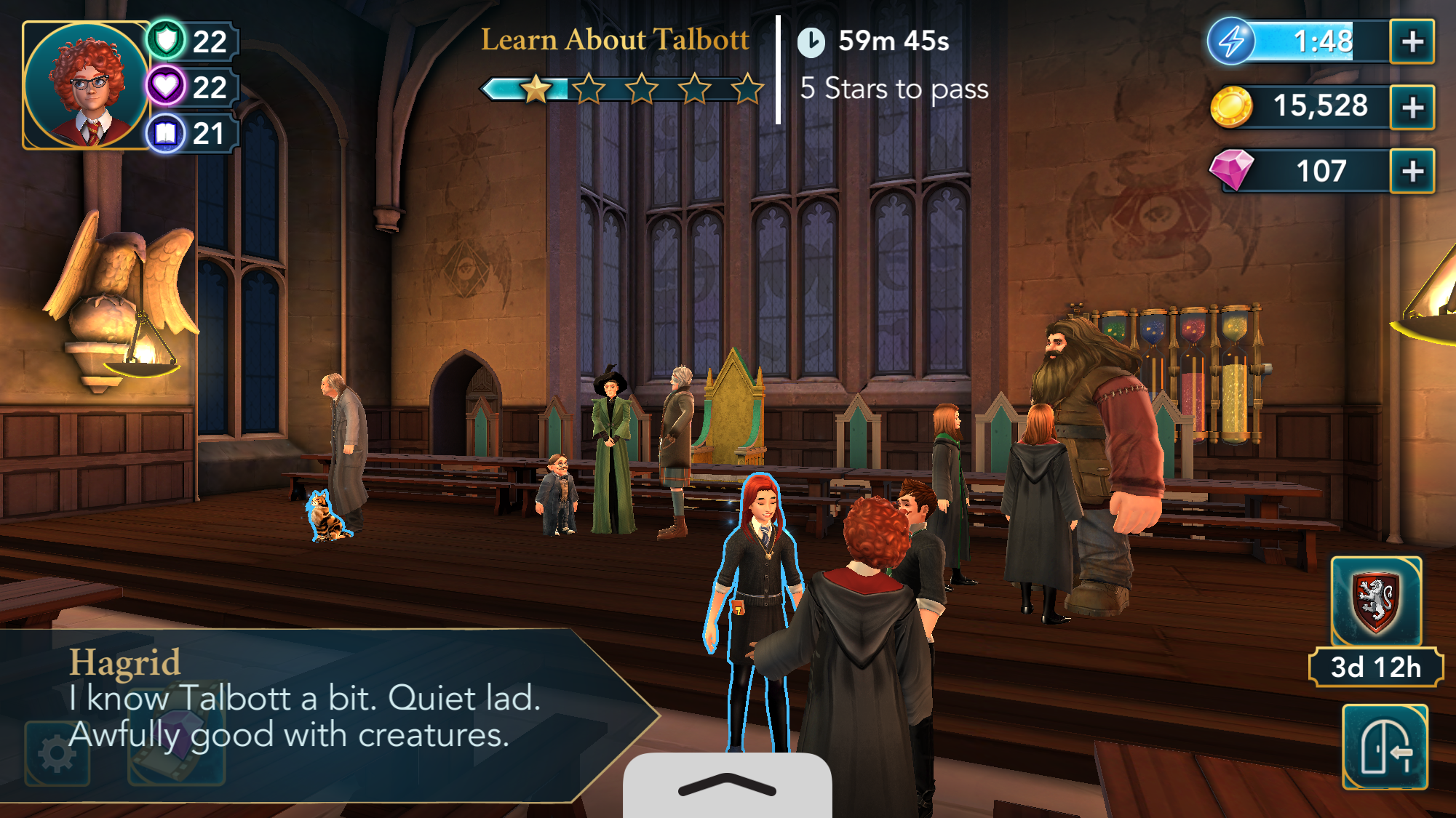Aww The Animagus Side Quest Harry Potter Games Hagrid Learning