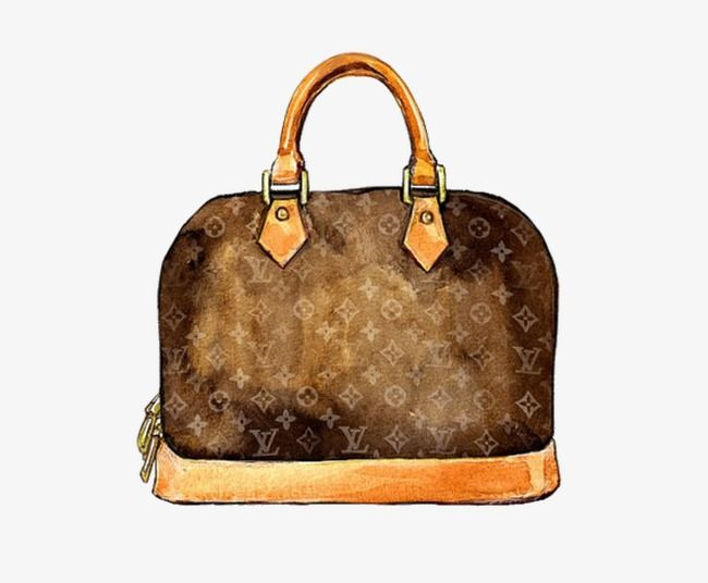 Millions Of Png Images Backgrounds And Vectors For Free Download Pngtree Louis Vuitton Watercolor Bag Illustration Louis Vuitton Agenda