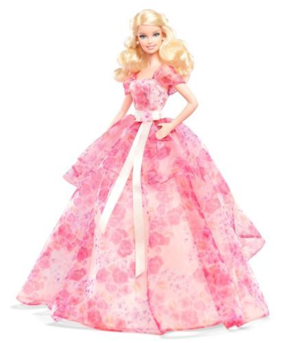 BIRTHDAY WISHES 2014 Barbie Doll Mattel Girls (This doll is Gorgeous!!!)
