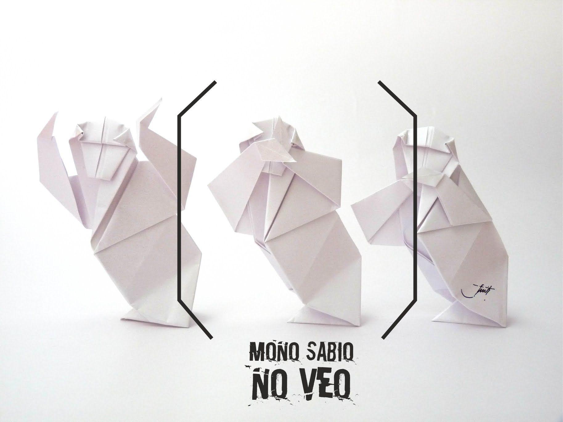 Mono Sabio- NO VEO/no oigo/no hablo