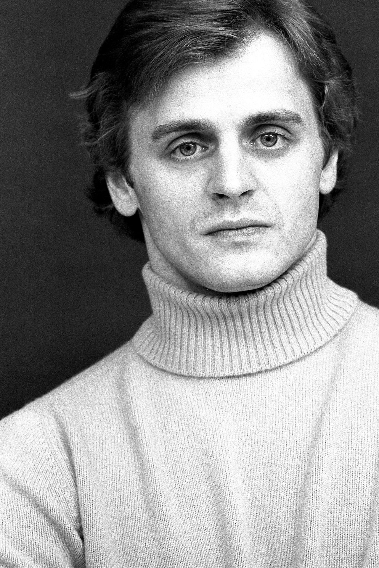 Portrait of Baryshnikov by Daniel Sorine. 1979. Part of a shoot for my book DANCERSHOES.