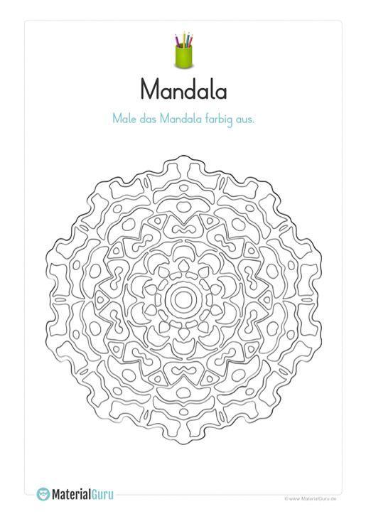 Malvorlage Mandala 02 - Mandalas Mandalas zum ausmalen
