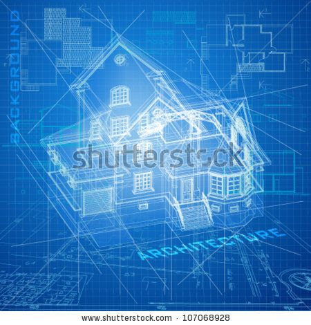 Stock vector urban blueprint vector architectural background with a stock vector urban blueprint vector architectural background with malvernweather