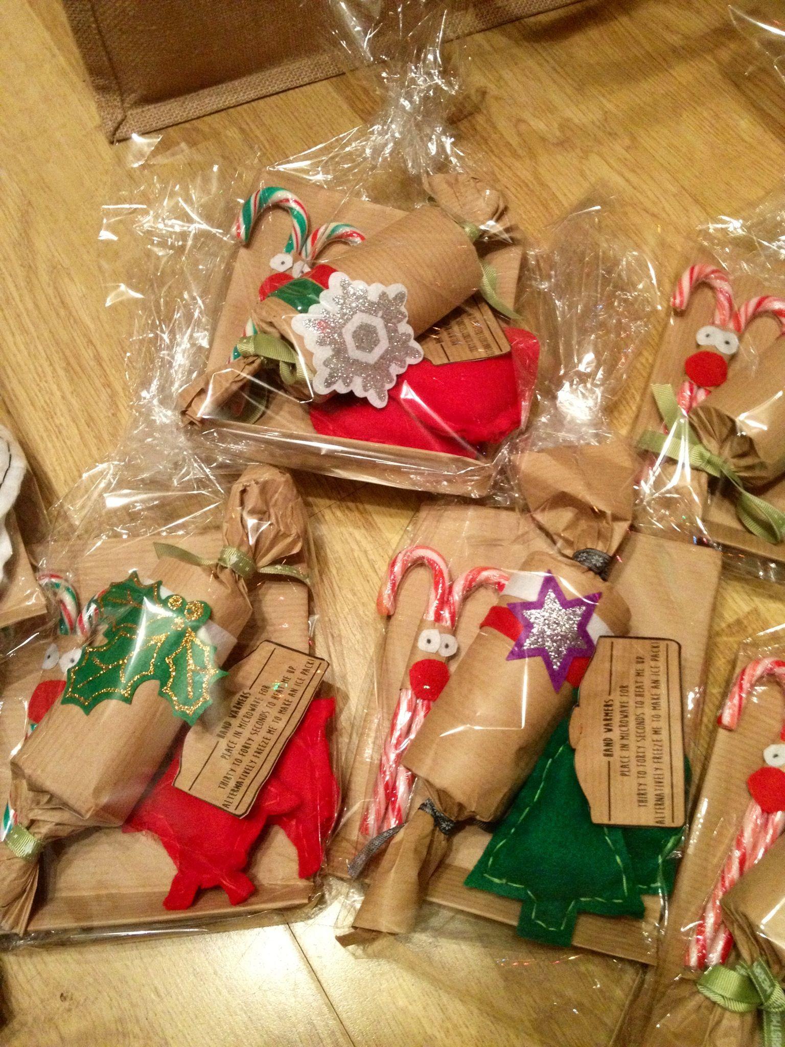 Homemade Christmas gift hampers! Peppermint reindeers, homemade ...