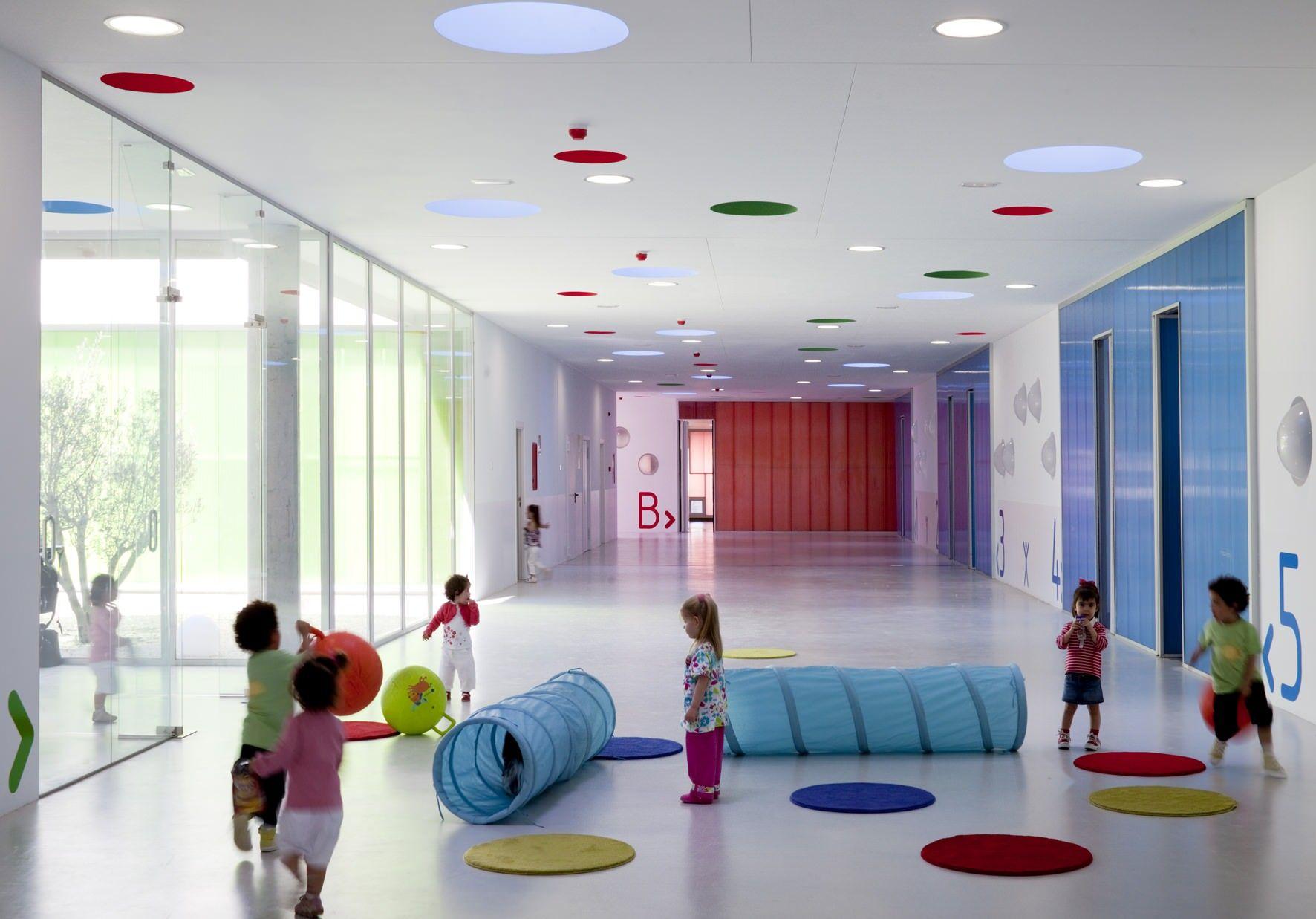 Kindergarten Interior  Szukaj W Google School Designdaycare Designplayroom Designdaycare