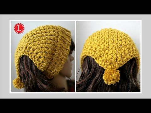 Loom Knitting Headband Scarf Ear Warmer Hat On A Round Loom