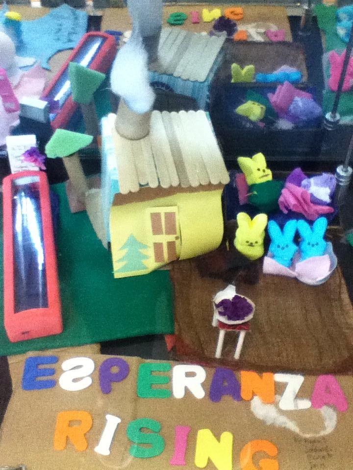 Calvert Library - Tween Peep Dioramas: Esperanza Rising