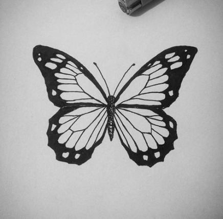 26 Trendy Tattoo Butterfly Pontilhismo