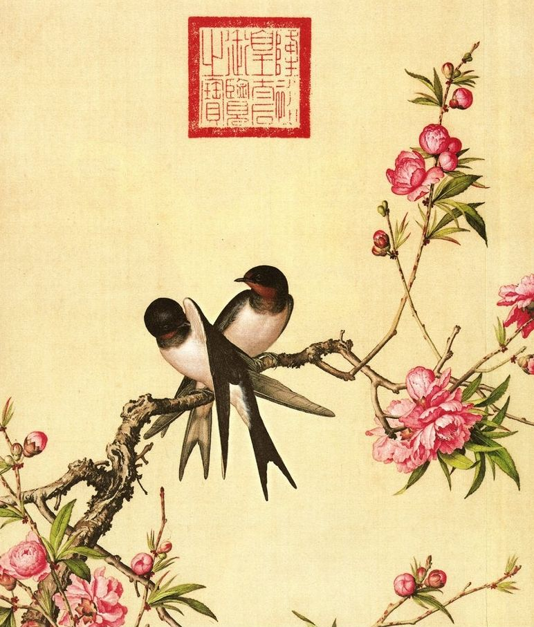 Картинки, китайские и японские открытки