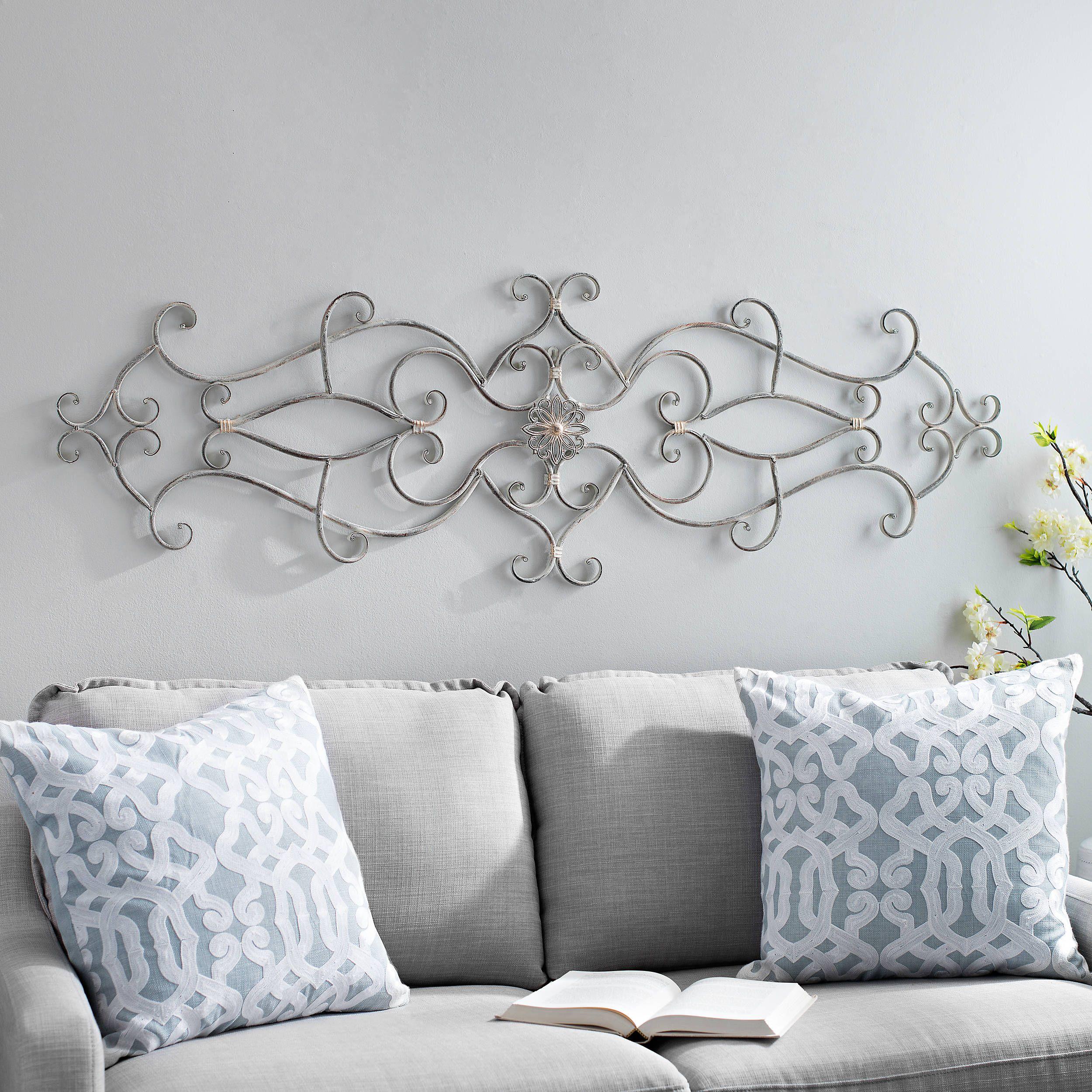 Shelley Whitewash Metal Wall Plaque Wall Decor Wooden Wall Plaques Wall Plaques